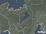 2020年01月02日の滋賀県の雨雲レーダー