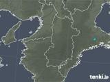 2020年01月02日の奈良県の雨雲レーダー