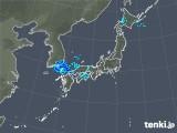 2020年01月06日の雨雲の動き