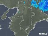 2020年01月07日の奈良県の雨雲レーダー