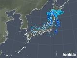 2020年01月08日の雨雲の動き