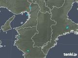 2020年01月09日の奈良県の雨雲レーダー
