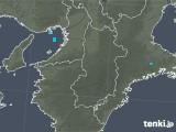 2020年01月10日の奈良県の雨雲レーダー