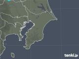 2020年01月13日の千葉県の雨雲レーダー