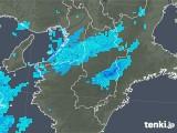 2020年01月14日の奈良県の雨雲レーダー
