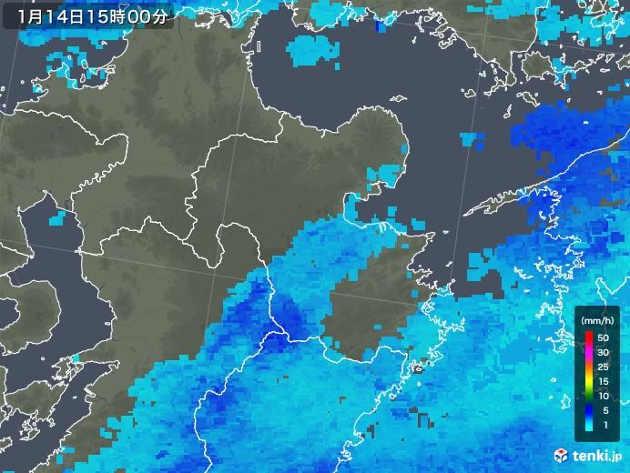 大分 天気 雨雲 レーダー