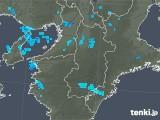 2020年01月15日の奈良県の雨雲レーダー