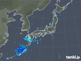 2020年01月16日の雨雲の動き