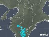 2020年01月16日の奈良県の雨雲レーダー