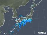 2020年01月17日の雨雲の動き