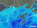 2020年01月17日の奈良県の雨雲レーダー