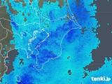 2020年01月18日の千葉県の雨雲レーダー