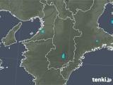 2020年01月18日の奈良県の雨雲レーダー