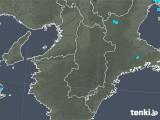 2020年01月21日の奈良県の雨雲レーダー