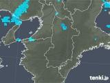 2020年01月22日の奈良県の雨雲レーダー