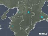2020年01月24日の奈良県の雨雲レーダー