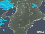 2020年01月25日の奈良県の雨雲レーダー