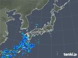2020年01月26日の雨雲の動き