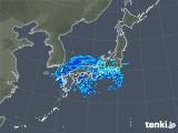 2020年01月27日の雨雲の動き