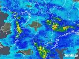 2020年01月27日の奈良県の雨雲レーダー