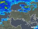2020年01月27日の山口県の雨雲の動き