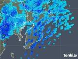 2020年01月28日の千葉県の雨雲レーダー
