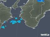 2020年01月29日の和歌山県の雨雲レーダー