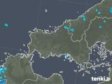 2020年01月29日の山口県の雨雲の動き