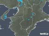 2020年01月31日の奈良県の雨雲レーダー