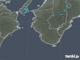 2020年01月31日の和歌山県の雨雲レーダー