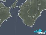 2020年02月03日の和歌山県の雨雲レーダー