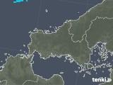2020年02月05日の山口県の雨雲の動き
