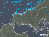 2020年02月06日の山口県の雨雲の動き