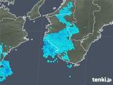 2020年02月07日の和歌山県の雨雲レーダー