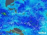 2020年02月12日の山口県の雨雲の動き