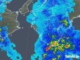 2020年02月16日の和歌山県の雨雲レーダー