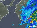 2020年02月22日の和歌山県の雨雲レーダー
