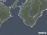 2020年02月24日の和歌山県の雨雲レーダー