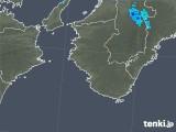 2020年02月27日の和歌山県の雨雲レーダー