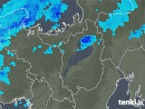 2020年03月28日の滋賀県の雨雲レーダー