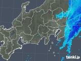 2020年03月29日の関東・甲信地方の雨雲レーダー