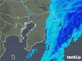 2020年03月29日の千葉県の雨雲レーダー