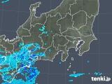 2020年03月30日の関東・甲信地方の雨雲レーダー