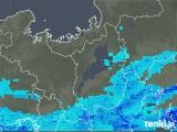 2020年03月30日の滋賀県の雨雲レーダー