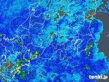 2020年04月01日の関東・甲信地方の雨雲レーダー