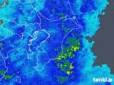 2020年04月01日の千葉県の雨雲レーダー