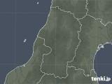 2020年04月03日の山形県の雨雲レーダー