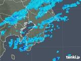 2020年04月05日の千葉県の雨雲レーダー