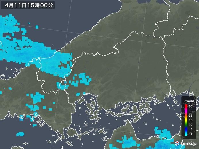 市 雨雲 レーダー 広島
