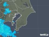 2020年04月12日の千葉県の雨雲レーダー